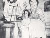 Disegno di Charles: famiglia di Nazaret