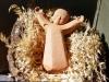 Gesù bambino sulla paglia
