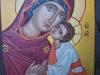 Grecia- Icona Madonna con bambino