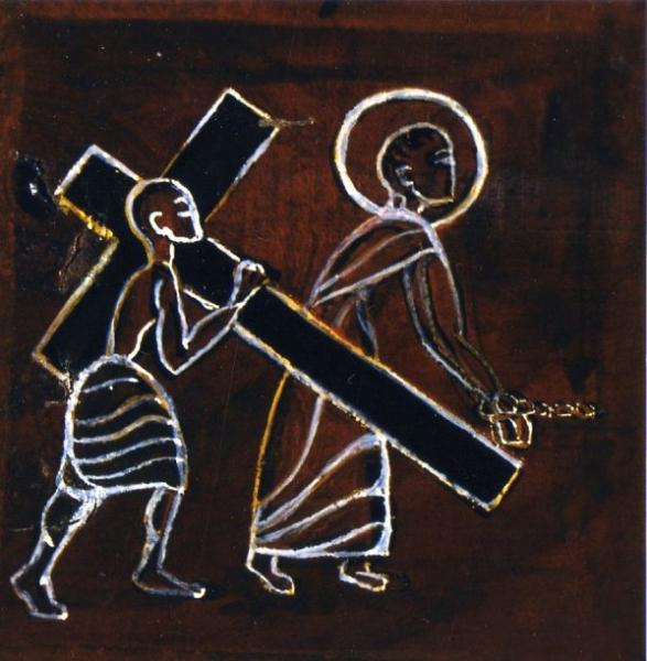 Via Crucis- il Cireneo