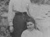 1912- Magdeleine con la sorella a Dax
