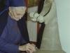 1978- sorella magdeleine ritocca la madonna in argilla