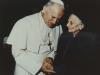 1980-con Giovanni Paolo II a San Pietro