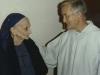 1980-visita di fratel Roger di Taizè a Tre Fontane