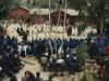 1989-Tre fontane,messa dei funerali di sorella Magdeleine