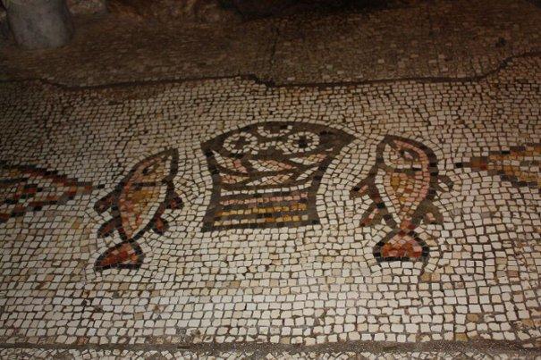 Tabga, Israele- simbolo dell'Eucarestia