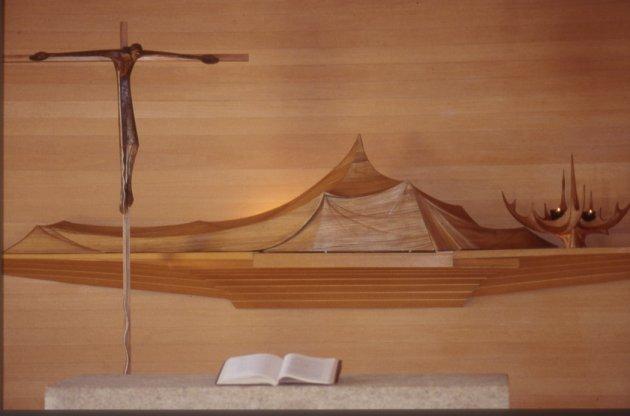 Tubet, Francia- altare
