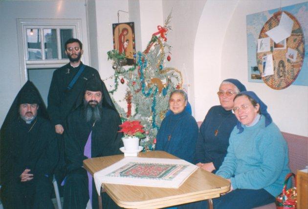 Gerusalemme- con la Chiesa Orientale