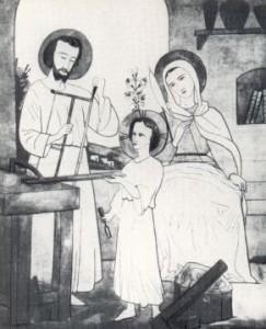 Nazaret- disegno di fratel Charles