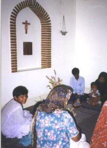 Pakistan- in cappella con amici