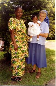 Sudafrica- Miriam Antonia con vicina