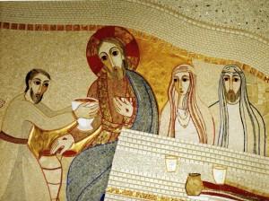 nozze di Cana- Rupnik