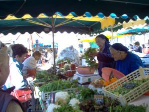 sorelle al mercato