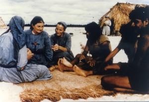 con gli indios