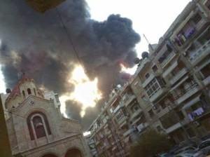 Aleppo missile su Azizieh