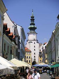 Bratislava- porta san Michele