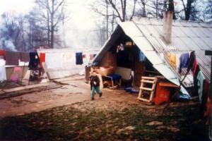 Campo profughi - Croazia