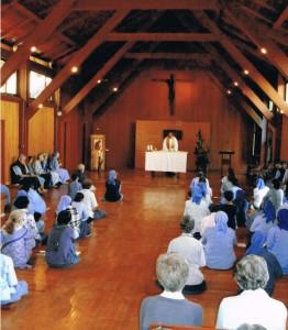 Messa in cappella- Tre fontane