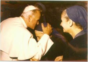 Con Giovanni Paolo