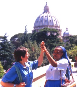 Due sorelle a san Pietro