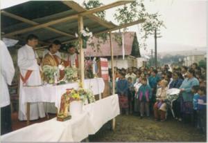 Messa in un villaggio rom- Slovacchia