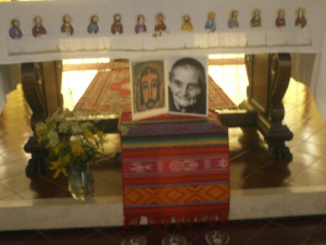 Preghiera con sorella Magdeleine