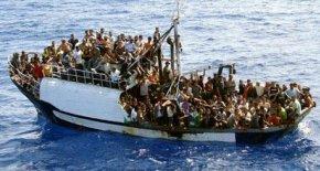 barcone di immigrati