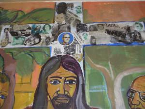 croce con foto dei martiri