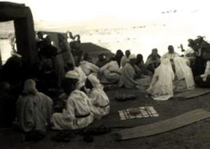prima riunione a Beni Abbes