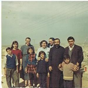 Con un prete e la sua famiglia ad Amman