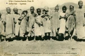 bambini a Beni Abbes