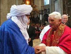 Beatificazione- con un tuareg