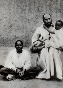 Con Abdallah e Ab Jesus