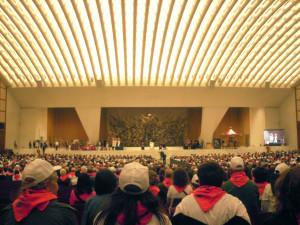 In aula Paolo VI